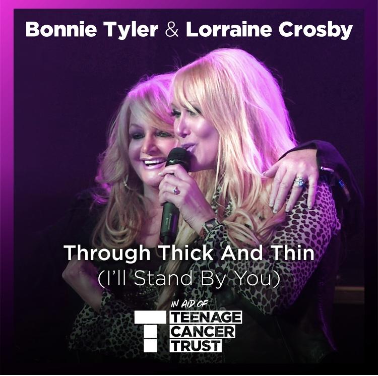 Bonnie Tyler and Lorraine Crosby